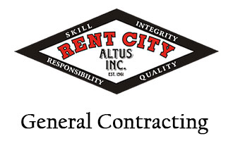 Equipment repair services at Rent City of Altus serving Southwest Oklahoma & North Texas