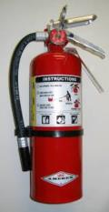 Rental store for FIRE EXTINGUISHER 10LB UL 4 ACLASS A B C in Altus OK