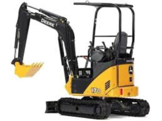 Where to find EXCAVATOR, JOHN DEERE 17G in Altus